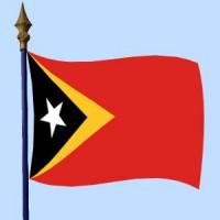 DRAPEAU Timor oriental
