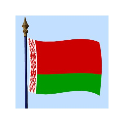 DRAPEAU Biélorussie