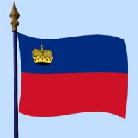 DRAPEAU Liechtenstein