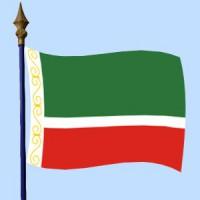 DRAPEAU Tchétchénie