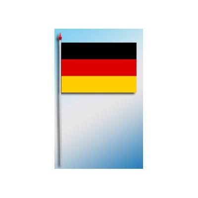 DRAPEAU PLASTIFIE 9.5X16CM Allemagne