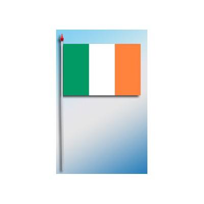 DRAPEAU PLASTIFIE 9.5X16CM Irlande
