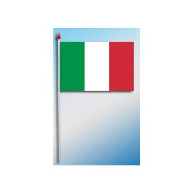 DRAPEAU PLASTIFIE 9.5X16CM Italie