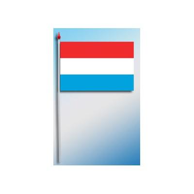 DRAPEAU PLASTIFIE 9.5X16CM Luxembourg