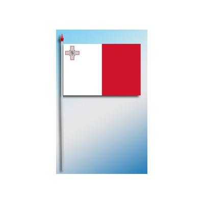 DRAPEAU PLASTIFIE 9.5X16CM Malte
