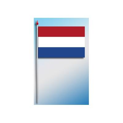 DRAPEAU PLASTIFIE 9.5X16CM Pays-Bas