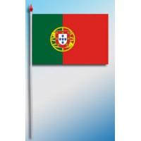 DRAPEAU PLASTIFIE 9.5X16CM Portugal avec armoirie