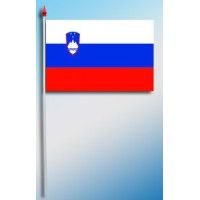 DRAPEAU PLASTIFIE 9.5X16CM Slovénie
