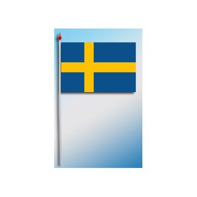 DRAPEAU PLASTIFIE 9.5X16CM Suède