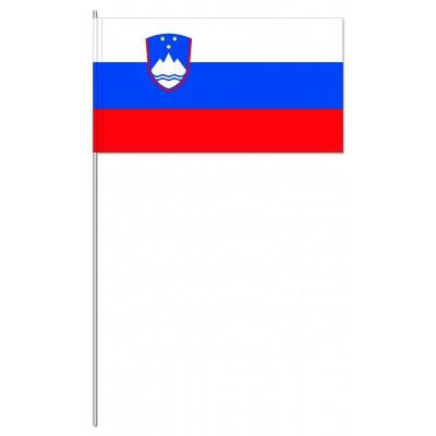 DRAPEAU PAPIER 12X24CM Slovénie