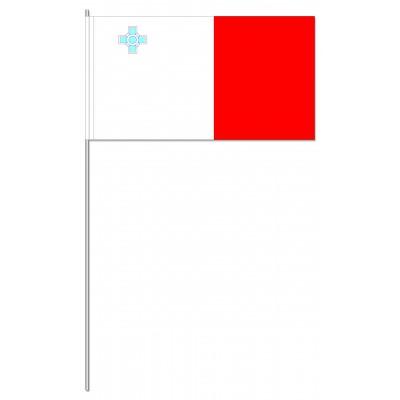 DRAPEAU PAPIER 12X24CM Malte