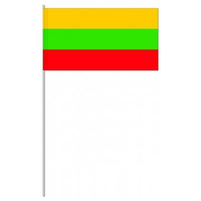 DRAPEAU PAPIER 12X24CM Lituanie