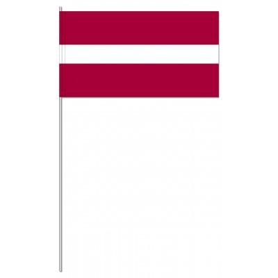 DRAPEAU PAPIER 12X24CM Lettonie