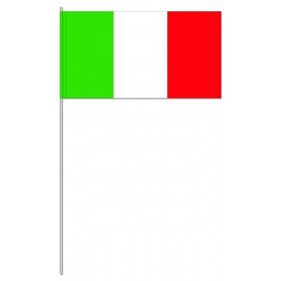 DRAPEAU PAPIER 12X24CM Italie
