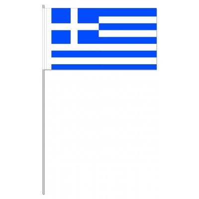 DRAPEAU PAPIER 12X24CM Grèce