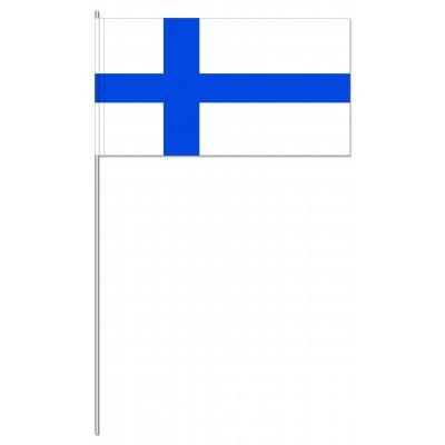 DRAPEAU PAPIER 12X24CM Finlande