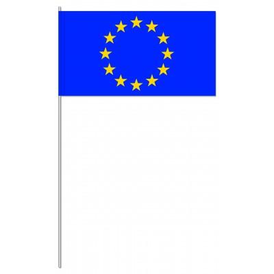 DRAPEAU PAPIER 12X24CM Conseil de l'Europe