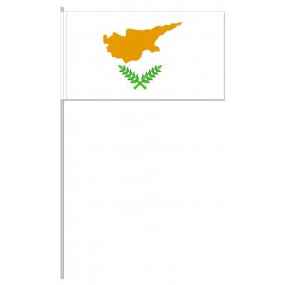 DRAPEAU PAPIER 12X24CM Chypre