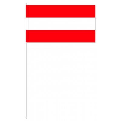DRAPEAU PAPIER 12X24CM Autriche