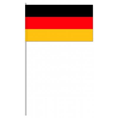 DRAPEAU PAPIER 12X24CM Allemagne