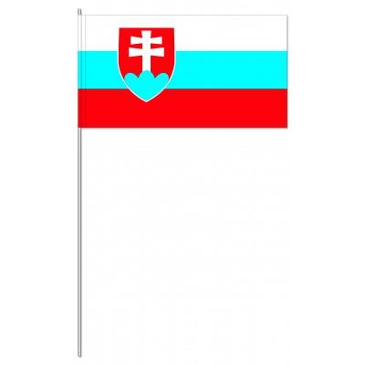 DRAPEAU PAPIER 12X24CM Slovaquie