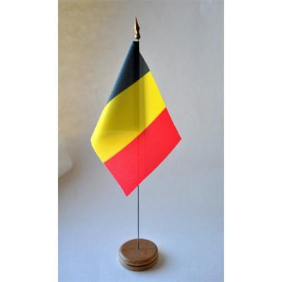 MINI DRAPEAU DE TABLE 10X14CM Belgique