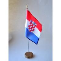MINI DRAPEAU DE TABLE 10X14CM Croatie