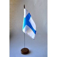MINI DRAPEAU DE TABLE 10X14CM Finlande