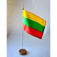 MINI DRAPEAU DE TABLE 10X14CM Lituanie