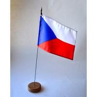 MINI DRAPEAU DE TABLE 10X14CM République tchèque