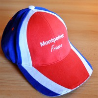 CASQUETTE FRANCE MONTPELLIER BRODEE