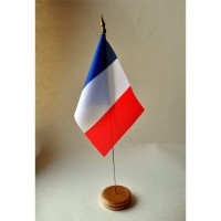 MINI DRAPEAU DE TABLE 10X14CM France