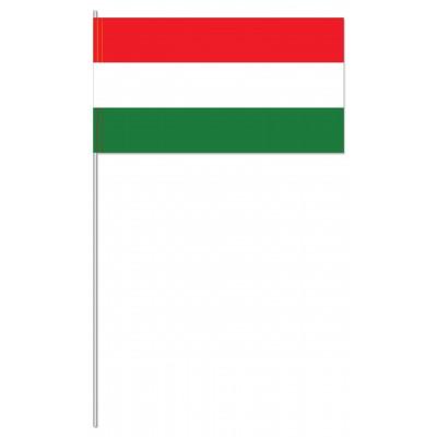 DRAPEAU PAPIER 12X24CM Hongrie