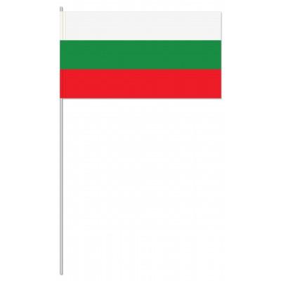 DRAPEAU PAPIER 12X24CM Bulgarie