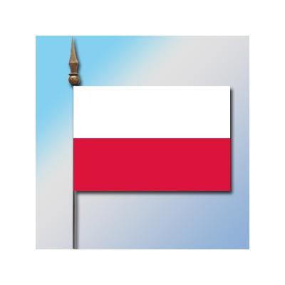 MINI DRAPEAU DE TABLE 10X14CM Pologne