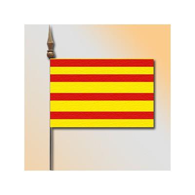 MINI DRAPEAU DE TABLE 10X14CM Catalogne