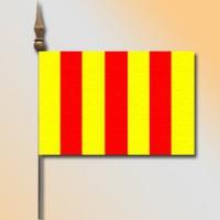 MINI DRAPEAU DE TABLE 10X14CM Comté de Foix
