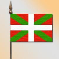 MINI DRAPEAU DE TABLE 10X14CM Pays Basque