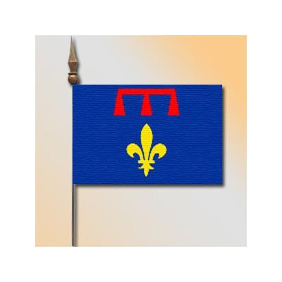 MINI DRAPEAU DE TABLE 10X14CM Provence Armés