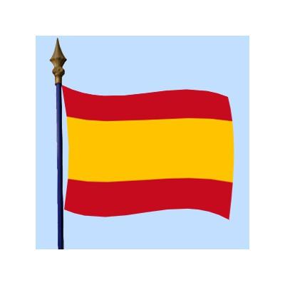 DRAPEAU Espagne sans armoirie