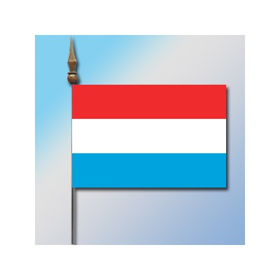 MINI DRAPEAU DE TABLE 10X14CM Luxembourg