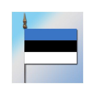 MINI DRAPEAU DE TABLE 10X14CM Estonie