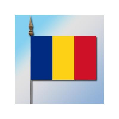 MINI DRAPEAU DE TABLE 10X14CM Roumanie