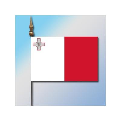 MINI DRAPEAU DE TABLE 10X14CM Malte