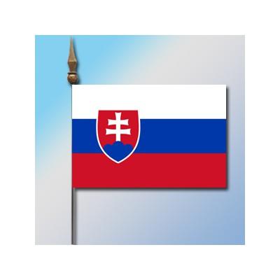 MINI DRAPEAU DE TABLE 10X14CM Slovaquie