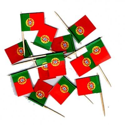 DRAPEAUX COCKTAIL 2X3CM PORTUGAL