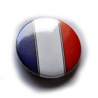 BADGE EPINGLE 38mm France LOT DE 10