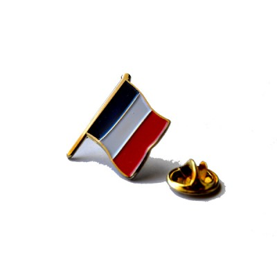 PINS FRANCE METAL EMAILLE 4cm