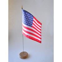 MINI DRAPEAU DE TABLE 10X14CM USA ETATS-UNIS