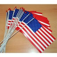 LOT DE 100 DRAPEAUX USA ETATS-UNIS Papier 10x16CM